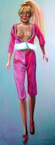 Barbie. olieverf/linnen. 80-40. 2007