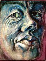 Trudy Kunkeler. olieverf op katoen.20-30 1992