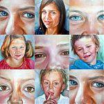 kleinkinderen van Ina Groen. fotocollage.2008