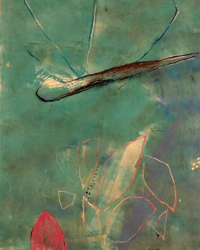 Watergeest--60-100-gouache-en-krijt-1991