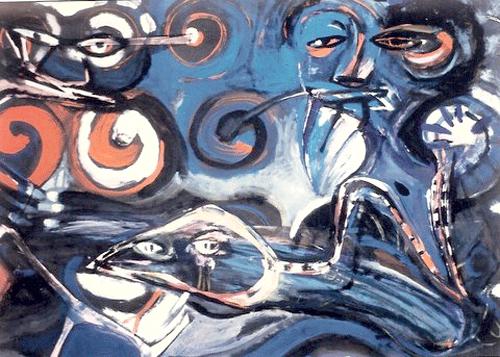 De-slang.-Collage-en-gouache.60-80-1986