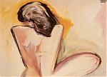 Vrouw-naakt.-gouache-60-80-1985