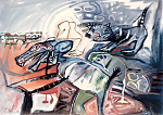 Als-hond-en-kat.-Gouache-60-80-1986