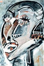 Vrouw-met-oorbel-gouache-60-80-1986