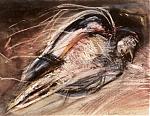 VOGELTJE-GEMENGDE-TECHNIEK-20-30-1984
