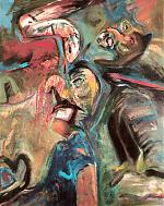De-slang--80-100--olieverf-op-linnen-1989